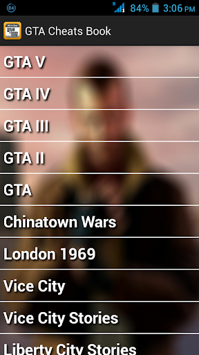 Cheats for GTA: All-in-One