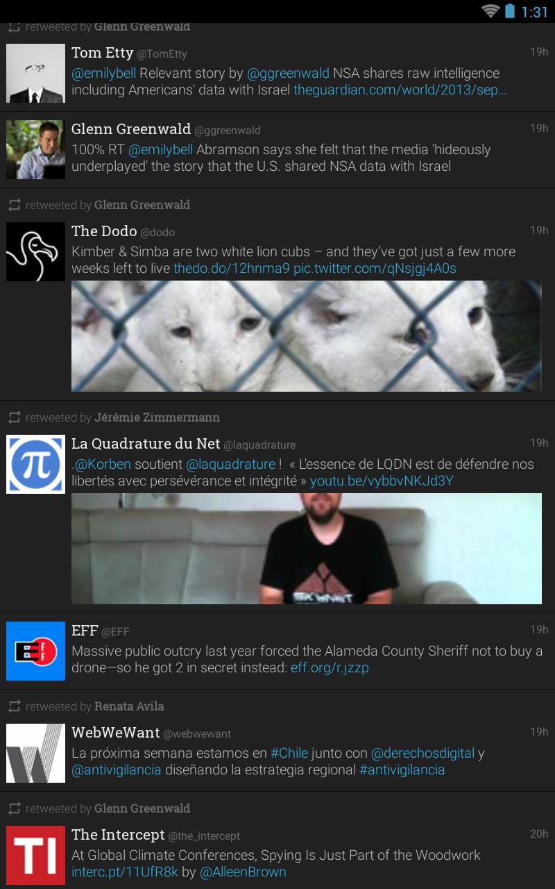 Plume for Twitter screenshot #13