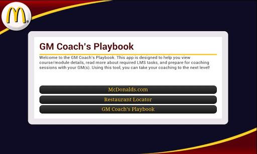 GM Coach Playbook