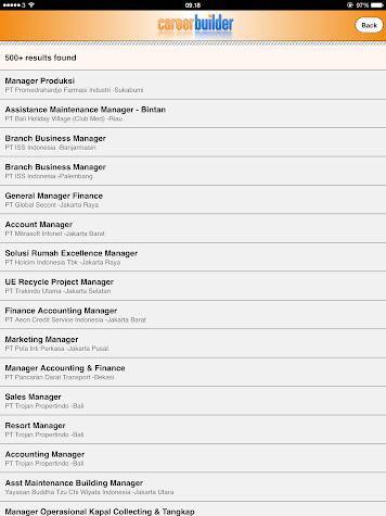 CareerBuilder Jobs Screenshot