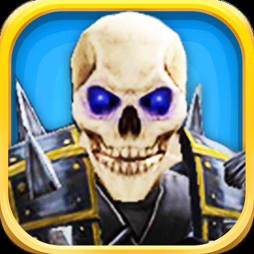 骷髅军:墓地战争 - 免费版 動作 App LOGO-APP試玩
