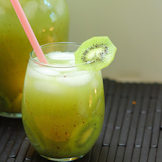 Kiwi Cucumber Agua Fresca.