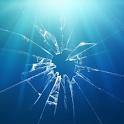 Zerbrochenes Glas Live wall icon