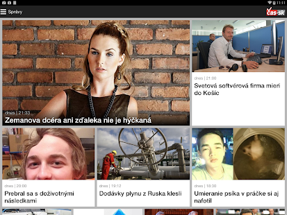 Nový Čas- screenshot thumbnail