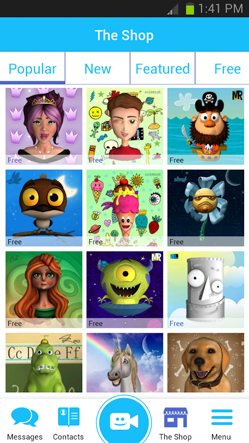 Pocket Avatars - screenshot