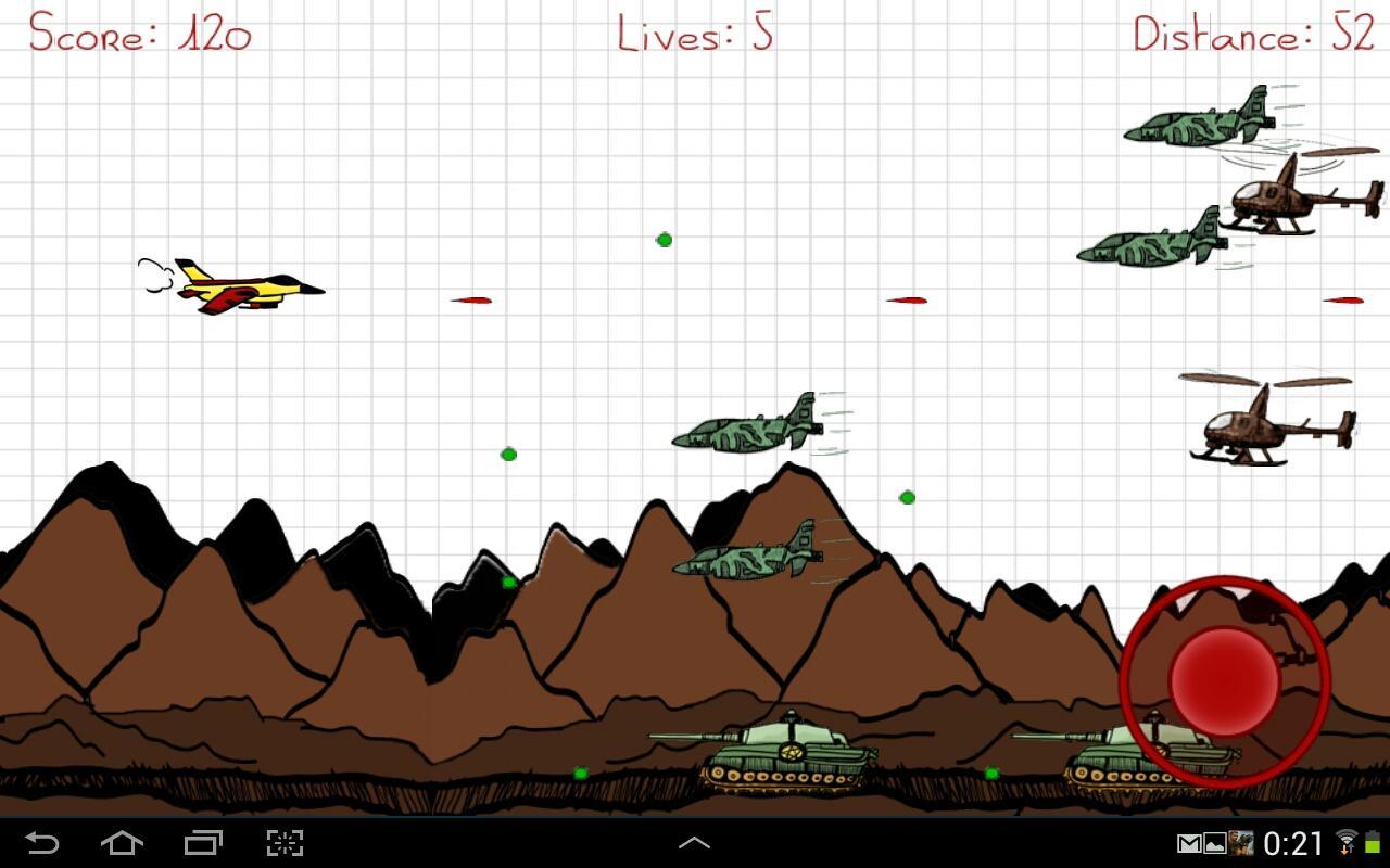 Air Attack Plane Doodle Air Attack Plane