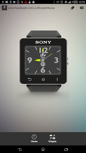 JJW Excite Watchface 2 for SW2