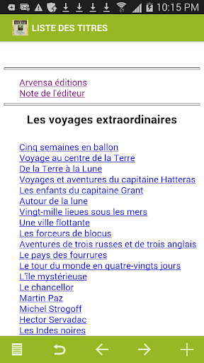 Jules Verne : Oeuvres