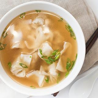 Wonton Soup.