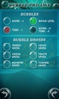 Screenshot of Bubble Droid Game
