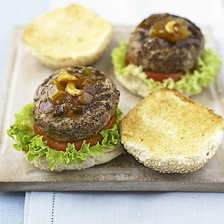 Spiced Turkey Burgers Recipe