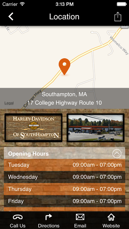 Harley-Davidson of Southampton- screenshot
