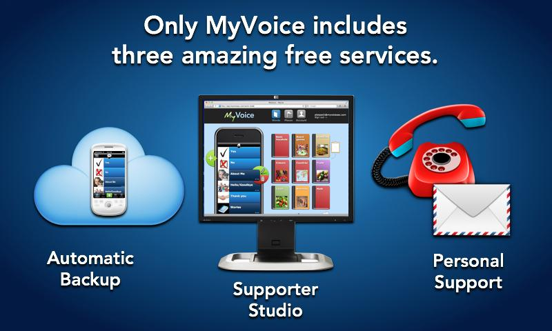 MyVoice Communication Aid - screenshot