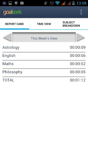 玩教育App Goalseek Study Log Timer免費 APP試玩