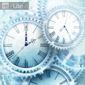 FREE Ice world time clock HD icon