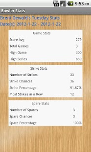 Good Bowler Stats - screenshot thumbnail