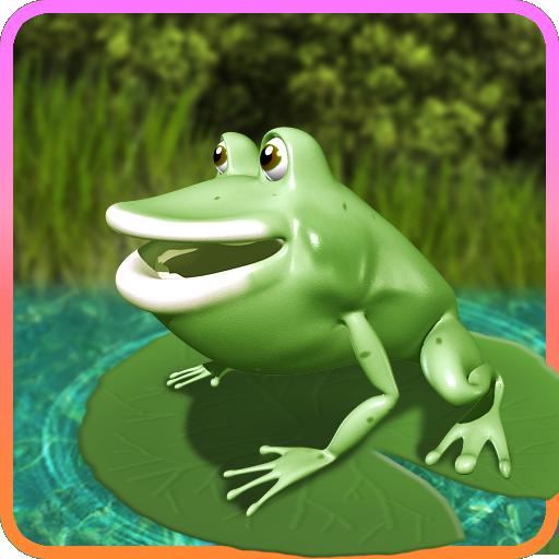 街机のカエルをジャンプ。(進撃のジャンプカエル) LOGO-HotApp4Game