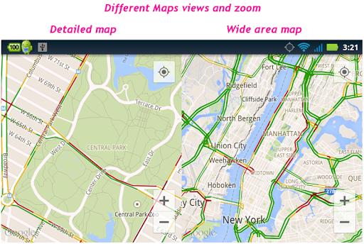 玩交通運輸App|MAPS Dual 【简单的双屏幕地图】免費|APP試玩