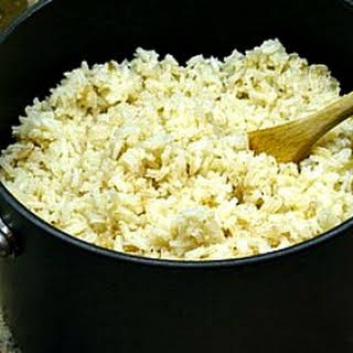 Brown Butter Rice.
