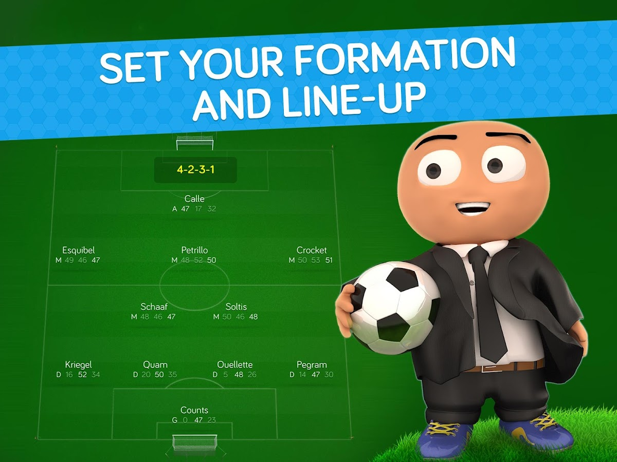Online Soccer Manager (OSM)- screenshot