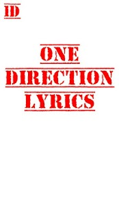 One Direction Lyrics- screenshot thumbnail