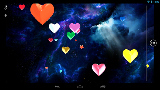 Hearts 3D Live Wallpaper Free- screenshot thumbnail
