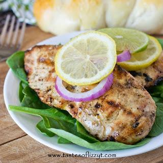 Grilled Lemon-Lime Pepper Chicken