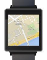 Screenshot of Mini Maps for Wear [ALPHA]