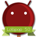 Lollipop 5.0 DarkRed Theme APK Cracked Download