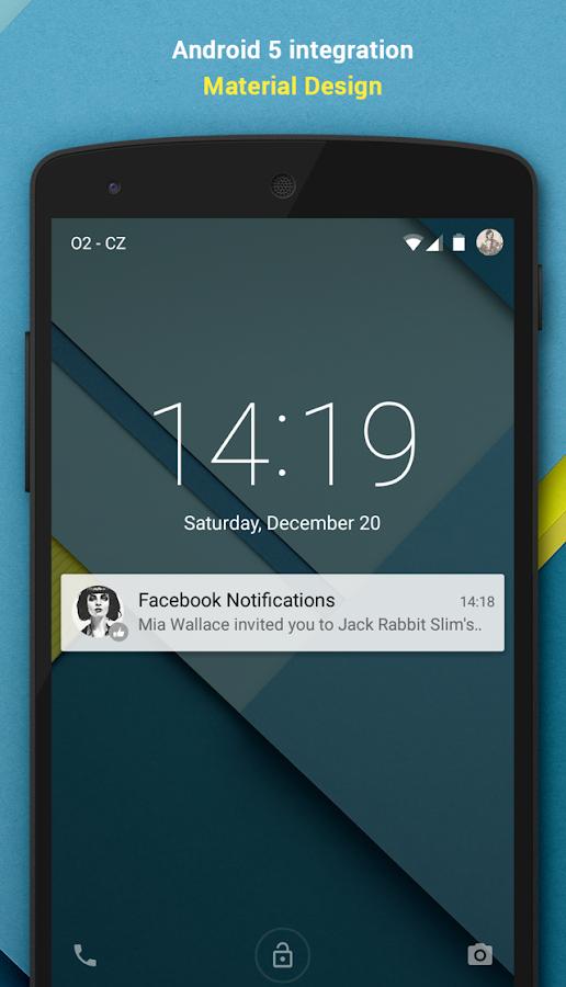 Notiface:Facebook Notification - screenshot