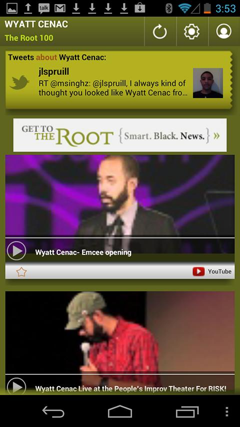 Wyatt Cenac: The Root 100 - screenshot