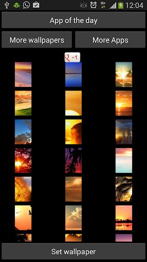 玩免費個人化APP|下載Sunset Wallpapers for Chat app不用錢|硬是要APP