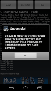 G-Stomper Mobile-Synths-1 Pack - screenshot thumbnail