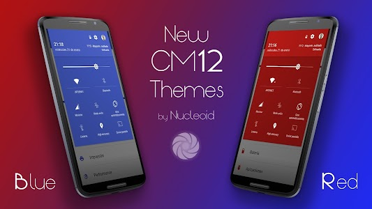 CM12 Blue Pop Theme v2.d