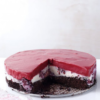 Chocolate-Berry Ice Cream Cake