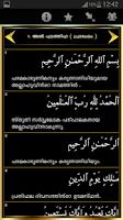 Screenshot of Malayalam Quran