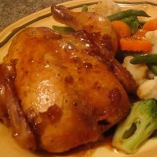 Marinated Cornish Hens Recipes.