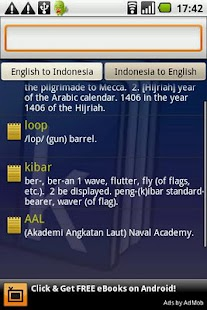 Kamus Dictionary Indonesia- screenshot thumbnail