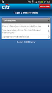 Citi Mobile PE- screenshot thumbnail