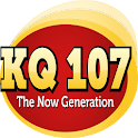 KQ107 The Now Generation logo