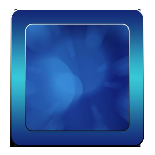 蓝色的键盘主题 LOGO-APP點子