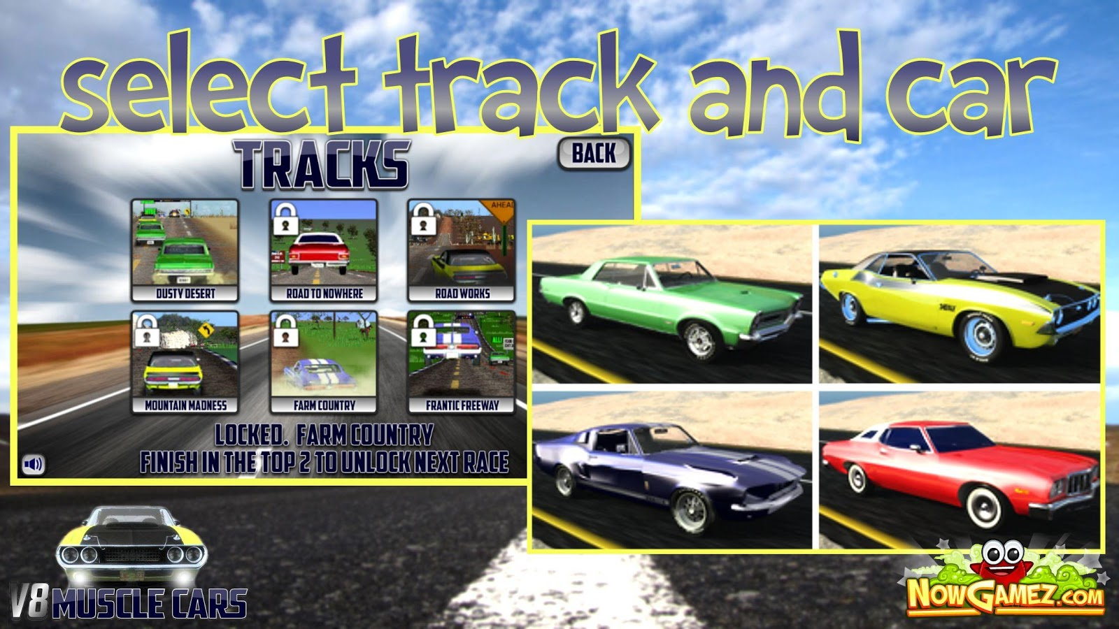 V8 Muscle Cars- screenshot