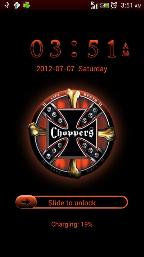 GO Locker Choppers Theme - screenshot