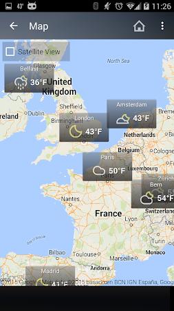 Weather & Clock Widget Android 5.0.1.2 screenshot 961