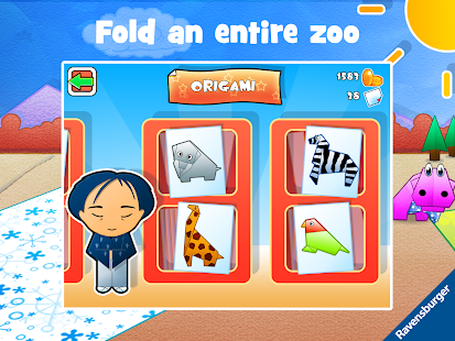 Play-Origami Zoo - screenshot thumbnail