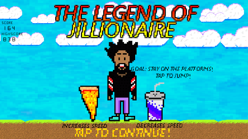 LEGEND OF JILLIONAIRE