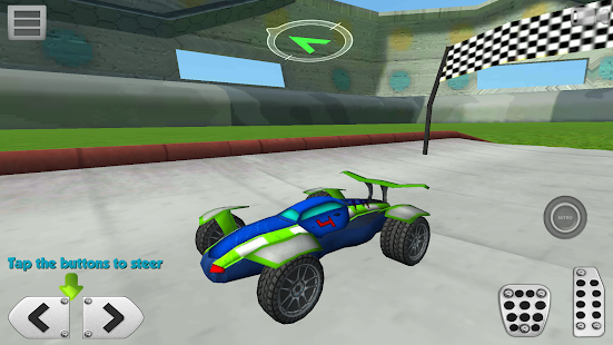 3D Racing : Stunt Arena 4- screenshot thumbnail