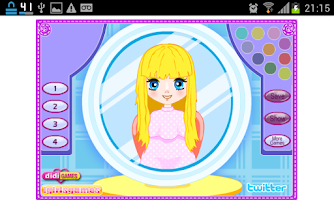 Screenshot of Jogos de Cabeleireiro