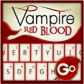GO Keyboard Vampire Red Blood