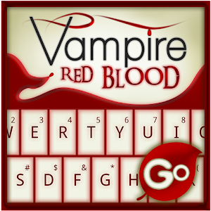 Free Apk android  GO Keyboard Vampire Red Blood 1.0  free updated on